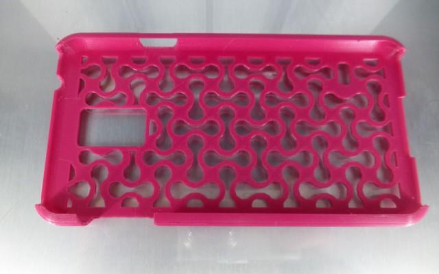 Impression en 3D d'un coque de téléphone portable