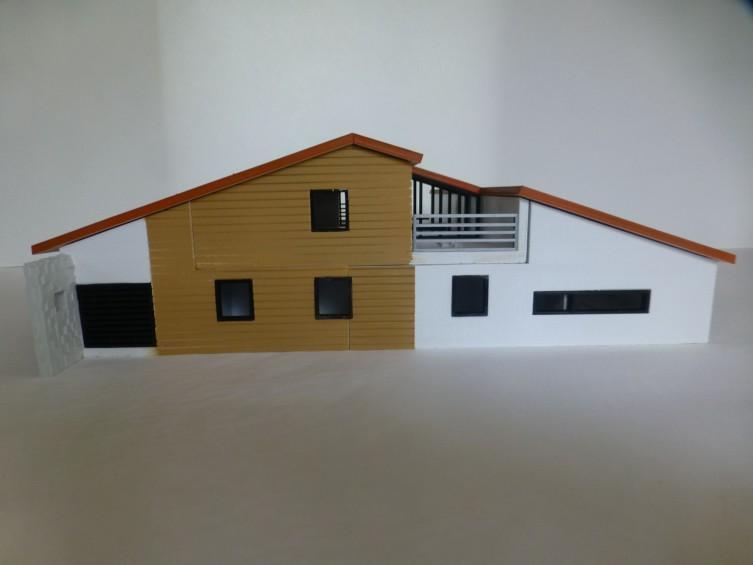 maquette 3d maison tradition objet maker. Black Bedroom Furniture Sets. Home Design Ideas