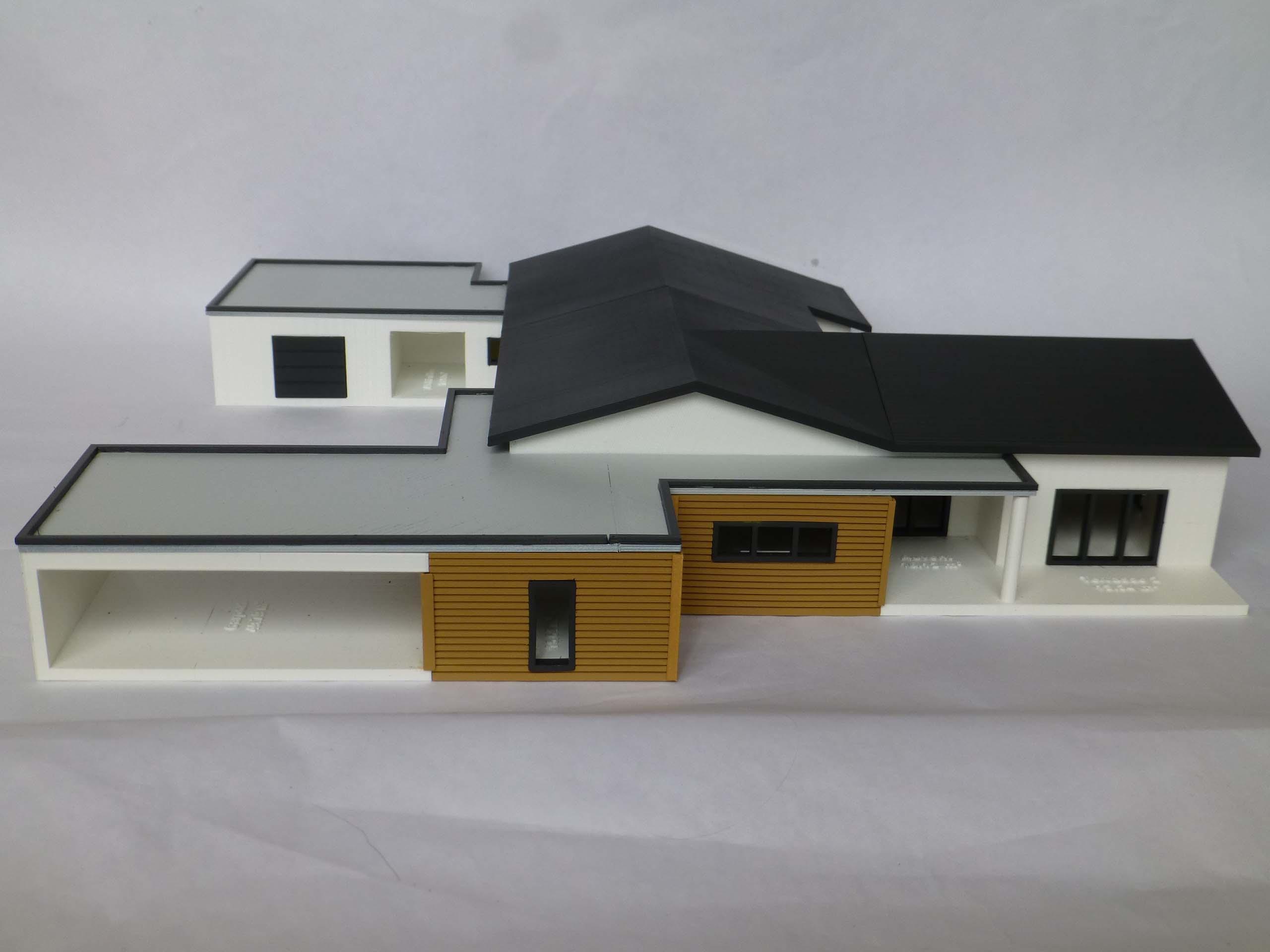 Maquette 3d Habitat Contemporain Objet Maker